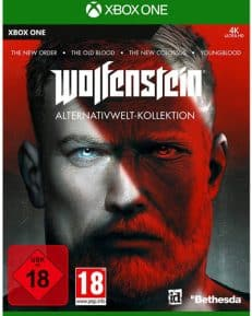 Wolfenstein  XB-One Alternativwelt Coll. New Order/Old Blood/Youngblood/WS 2 USK+AT