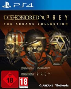 Arkane Collection  PS-4 Dishonored + Prey USK+AT